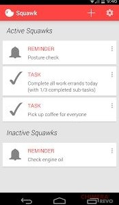 Squawk Reminders on Unlock