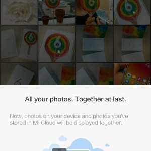photos across devices