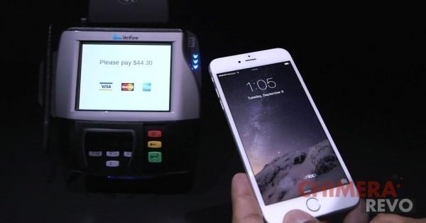 Apple Pay NFC iPhone 6