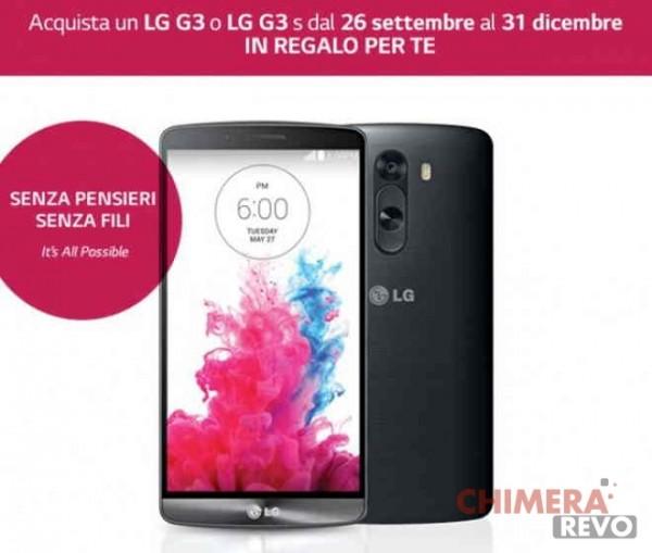 LG G3 senza pensieri