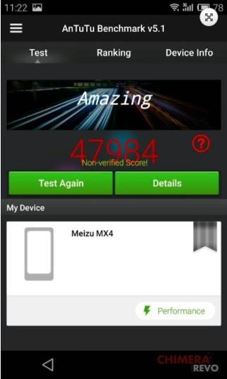 meizu mx4 benchmark