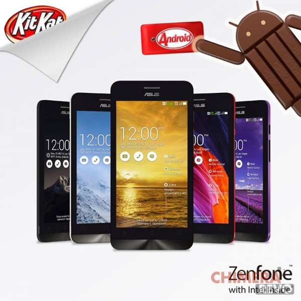 ASUS Zenfone Android 4.4 KitKat