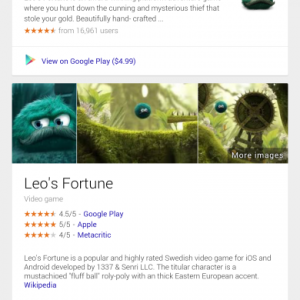 Google scheda videogiochi 1