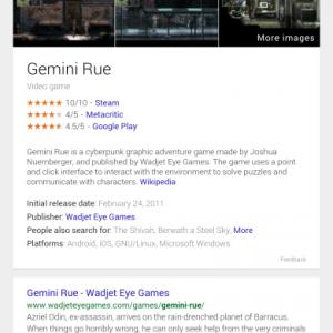 Google scheda videogiochi 2