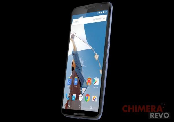 Nexus 6 render evleaks
