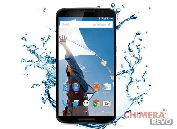 Nexus 6 resistente all'acqua