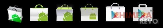 Play Store evoluzione icona