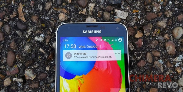 Samsung Galaxy S5 - Android 5.0 Lollipop