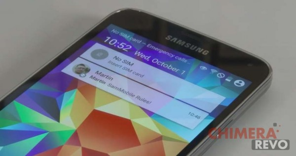 Samsung Galaxy S5 - Android L