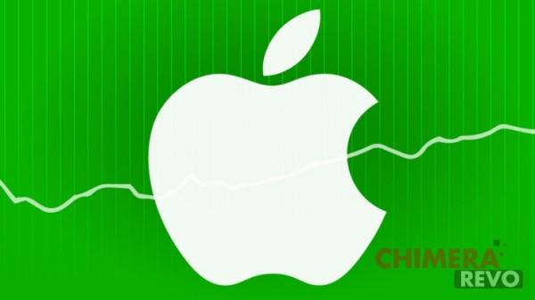 apple logo andamento
