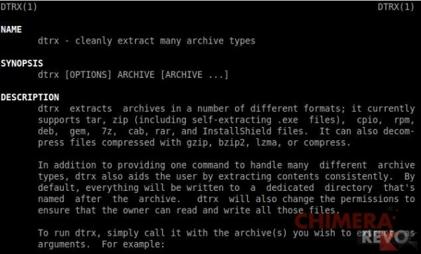 Estrarre archivi su Linux - dtrx