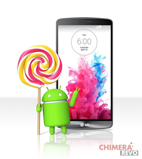 LG G3 - Android 5.0 Lollipop