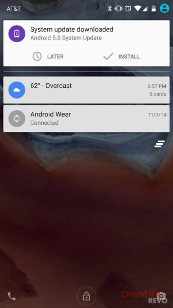 LRX21O per Nexus 6