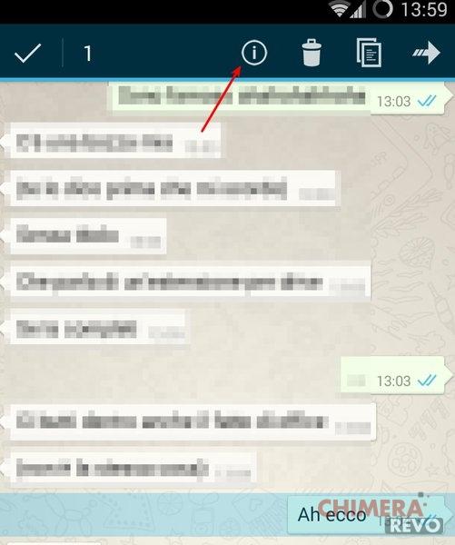 Orario doppia spunta whatsapp