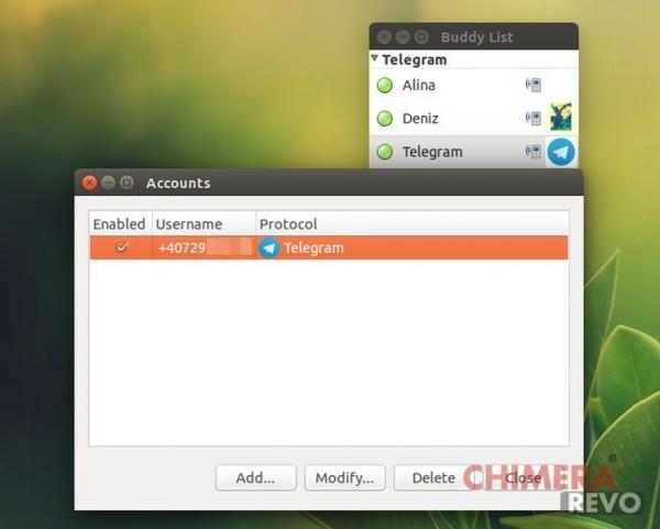 telegram su Ubuntu