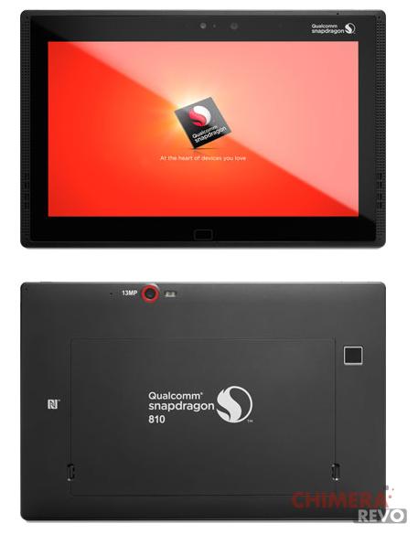 tablet qualcom snapdragon 810