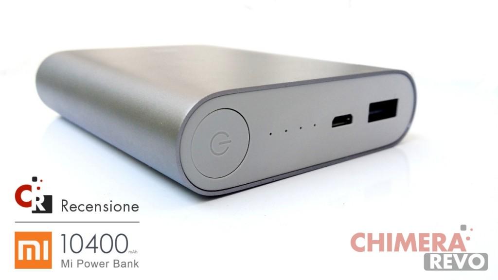 Recensione Xiaomi Mi Power Bank 10400
