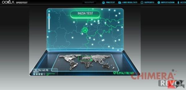 controllare la velocità di rete