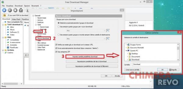 Free Download Manager Cartella Predefinita
