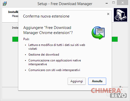 Free Download Manager Chrome