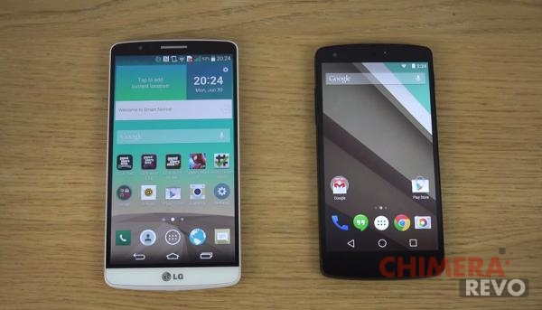 LG G3 - Nexus 5