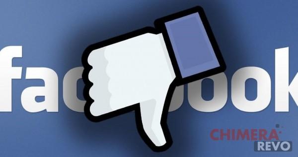 facebook non mi piace