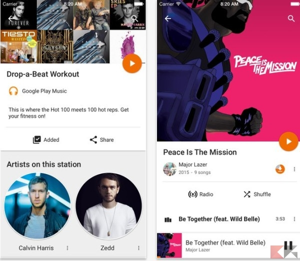 google play musica apple