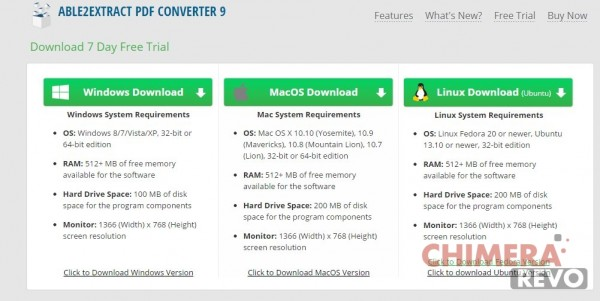 Free Trial Download - Able2Extract PDF Converter