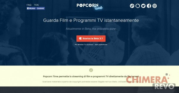 Popcorn Time - Watch movies and TV shows instantly!