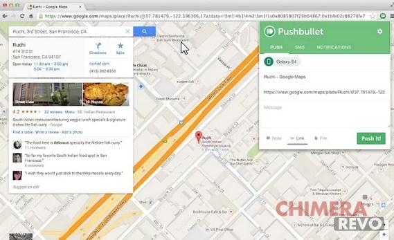 Pushbullet - Chrome Web Store