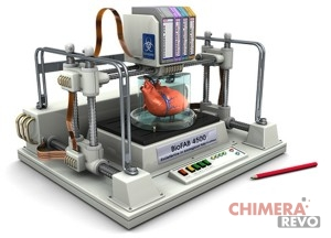 Stampante 3d organi medicina