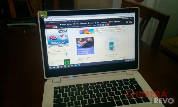 Chromebook Acer schermo 1