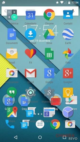 Nexus 6 - bug launcher