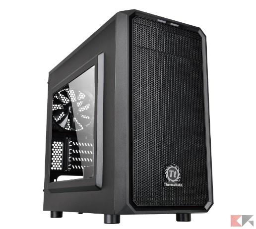 Thermaltake Versa H15 Case per PC Mini, con Finestrino, Nero_ Amazon.it_ Informa