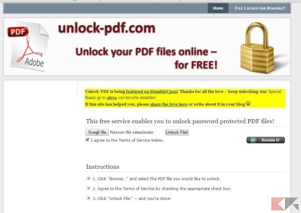 PDF protetto