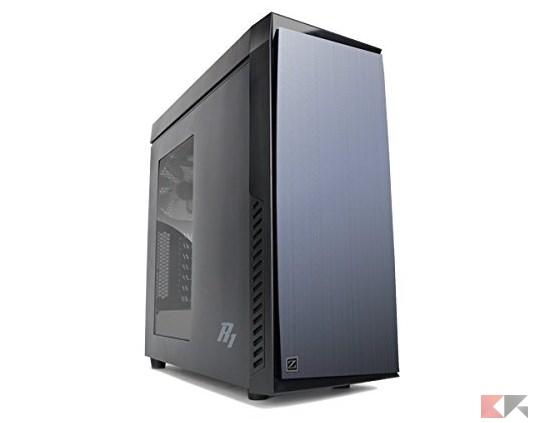 Zalman R1 - Case mid tower con finestra, colore_ Nero_ Amazon.it_ Informatica