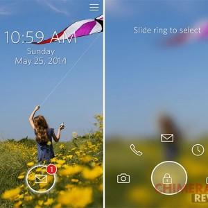 android lockscreen start risultato