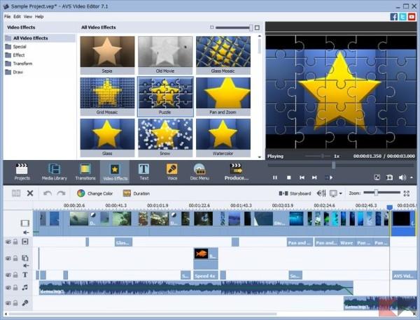 Modificare video gratis - AVS