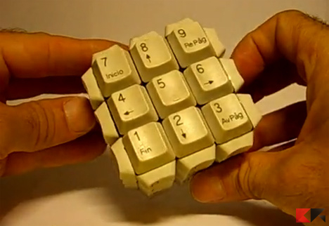 tastiera rubik