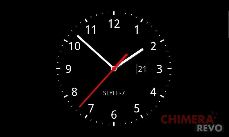 sfondo orologio android