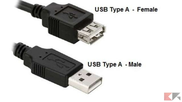 differenza usb 2.0, 3.0 e usb type c 3.1
