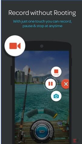 registrare lo schermo su Android