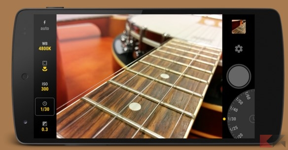 App foto Android - Manual camera