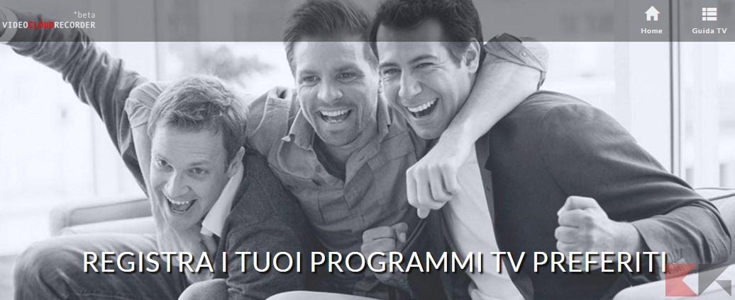 Registrare programmi TV   Registrare Canali TV