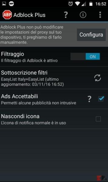 Adblock su Android senza root: guida completa - ChimeraRevo