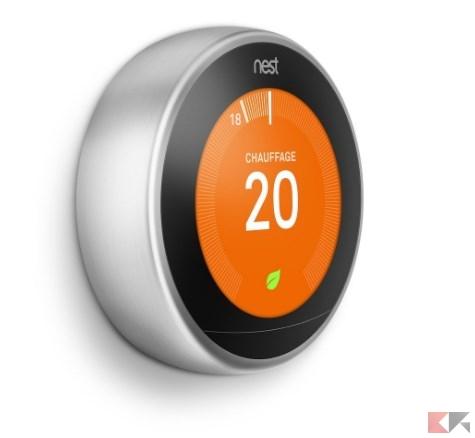 Nest Learning Thermostat 3rd gen._ Amazon.it_ Fai da te