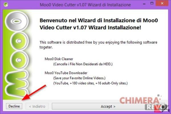 Come tagliare video - Moo0 Video Cutter