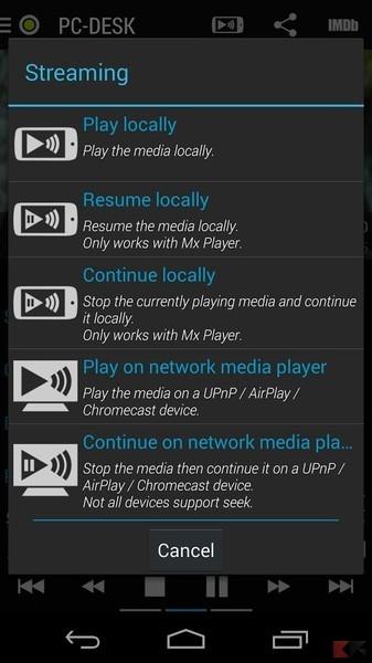 Kodi e Chromecast