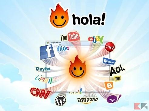 Unlimited Free VPN - Hola - Chrome Web Store