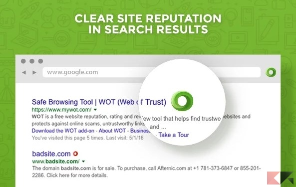 WOT_ Web of Trust, Website Reputation Ratings - Chrome Web Store